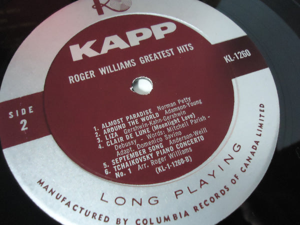 Roger Williams - Greatest Hits [Mono]
