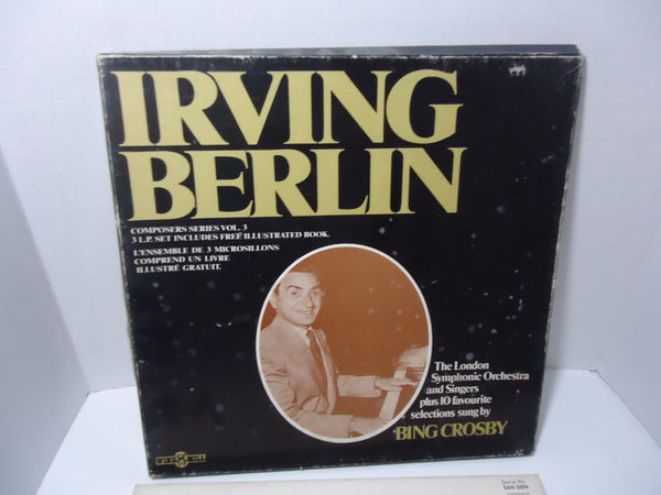 The London Symphony Orchestra And Singers: Composers Series Vol. 3 - Irving Berlin [3 LP Box Set]