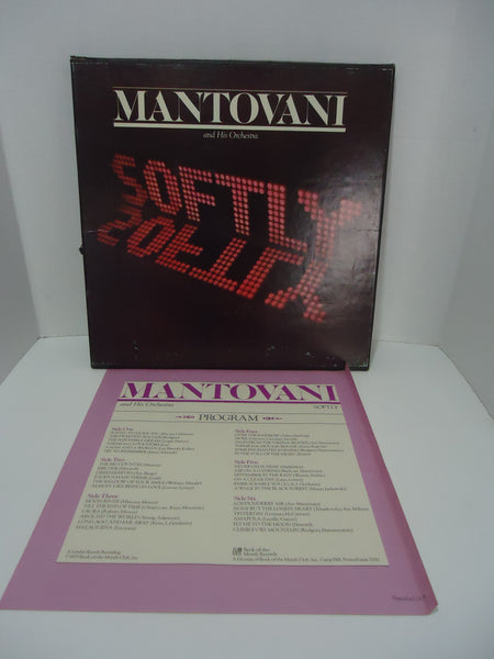 Mantovani And His Orchestra ‎– Softly [3 LP Box Set] Vinyl LP
