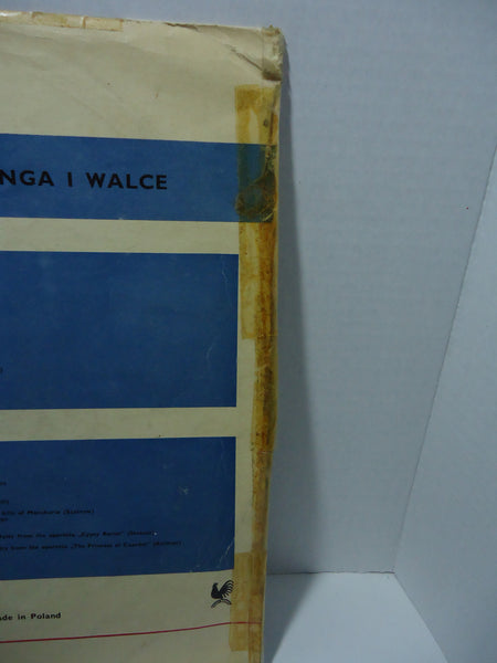 Various ‎Artists - Słynne Tanga Walce [Import]