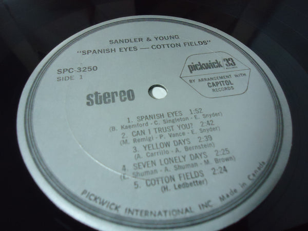 Sandler & Young - Cottonfields / Spanish Eyes