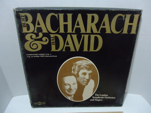 The London Symphonic Orchestra And Singers ‎– Burt Bacharach & Hal David [3 LP] [Box Set]