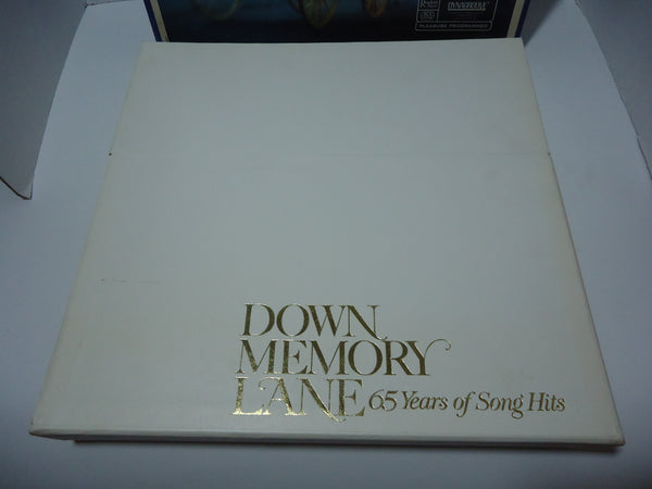 Various Artists ‎– Down Memory Lane: 65 Years Of Song Hits [10 LPs] [Box Set]