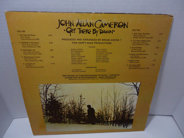 John Allan Cameron - Get There By Dawn