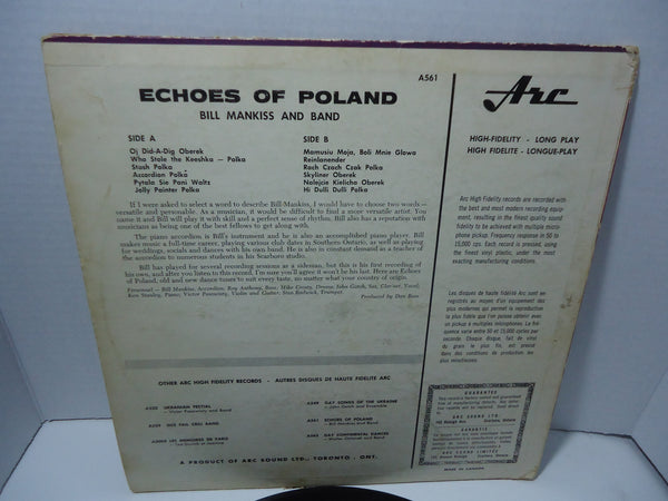 Bill Mankiss and His Band - Echoes of Poland