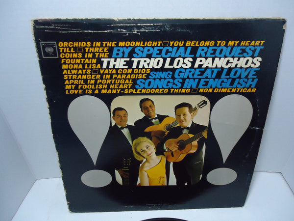 The Trio Los Panchos - Sings Great Love Songs In English [Mono]
