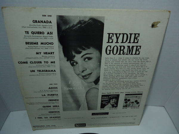 Eydie Gorme - I Feel So Spanish [Mono]