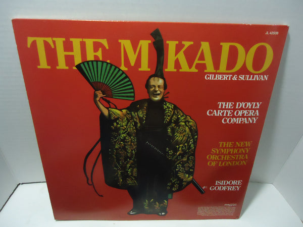 The Mikado by Gilbert & Sullivan [Double LP]