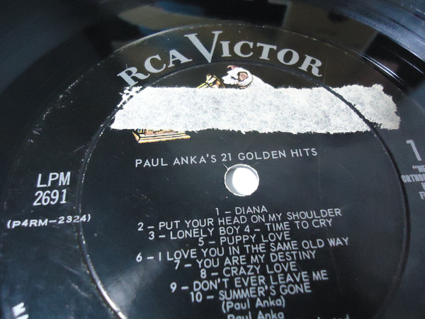 Paul Anka - 21 Golden Hits [Mono]