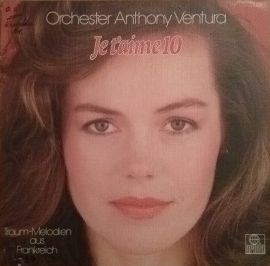Orchester Anthony Ventura LP Je T'aime 10
