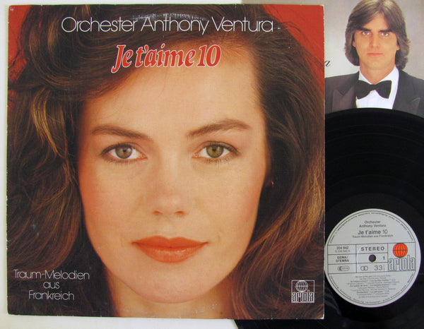 Orchester Anthony Ventura LP Germany Import