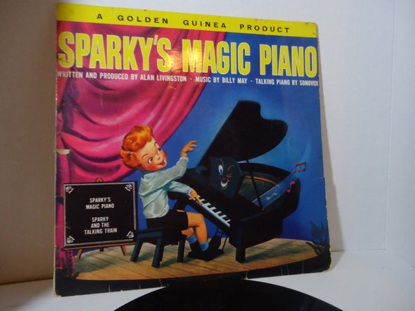 Henry Blair Featuring Ray Turner ‎– Sparky's Magic Piano [Mono] [Import]