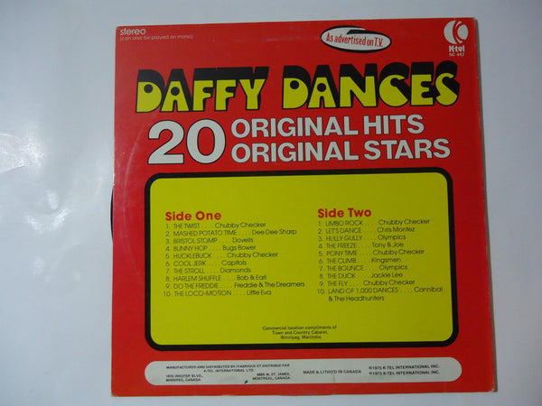 Various Artists - Daffy Dances [K-Tel Records Compilation]
