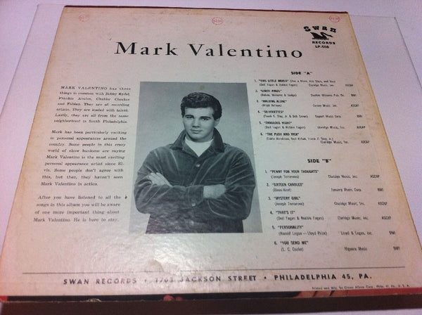 Mark Valentino - S/T [Self-Titled] [1st Pressing]