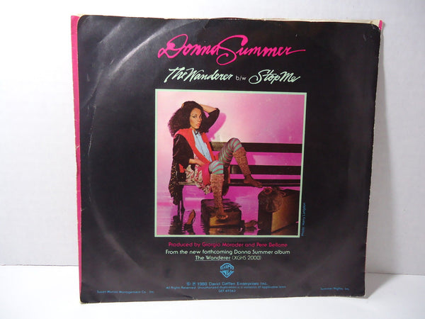 Donna Summer - The Wanderer / Stop Me
