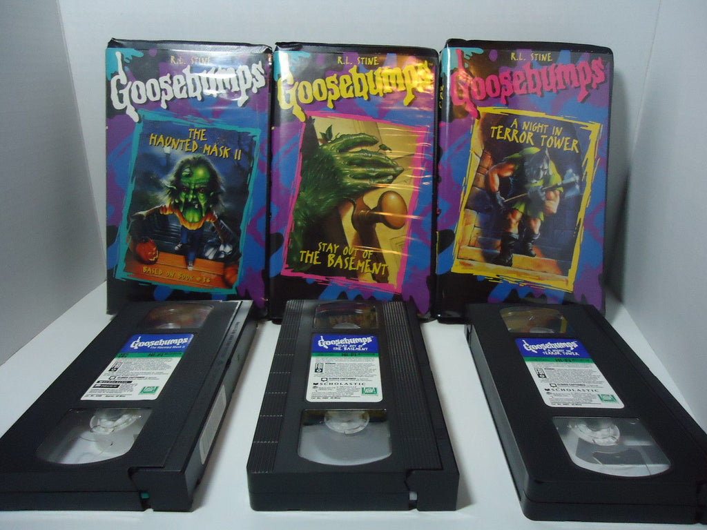 Goosebumps [Lot of 3]