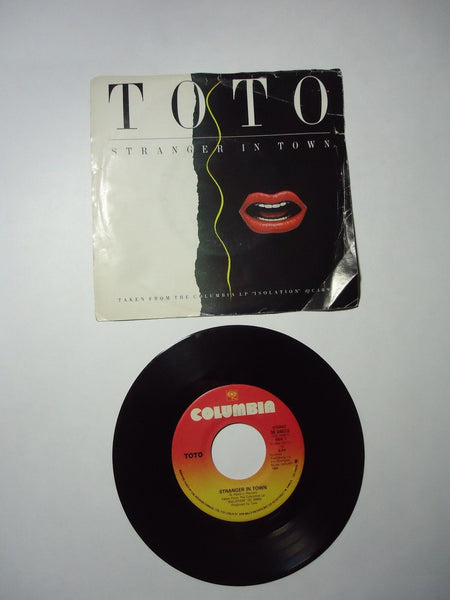 Toto - Stranger In Town / Change Of Heart