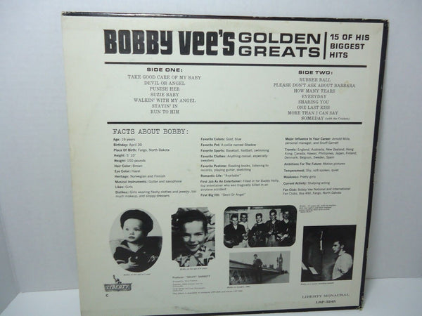 Bobby Vee - Golden Greats [Mono]