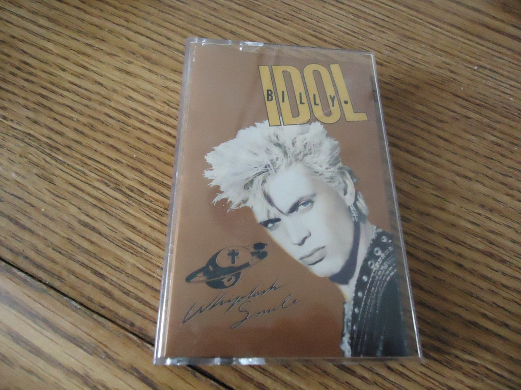 Billy Idol - Whiplash Smile cassette tape for sale