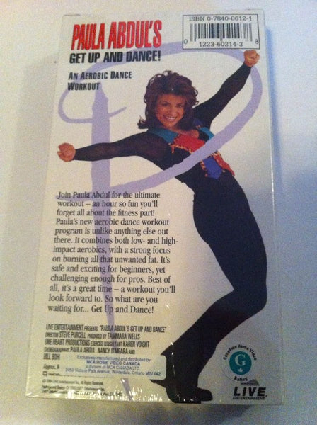 Paula Abdul's Get Up & Dance Aerobics