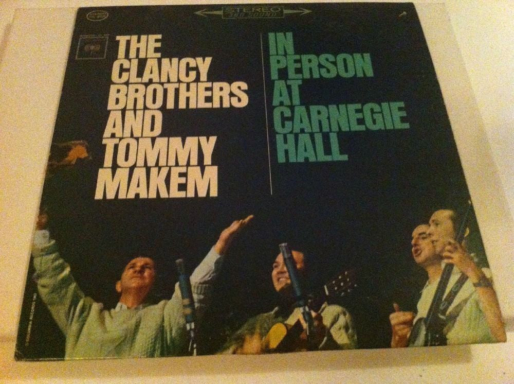 The Clancy Brothers And Tommy Makem - In Person At Carnegie Hall [Live Recording]