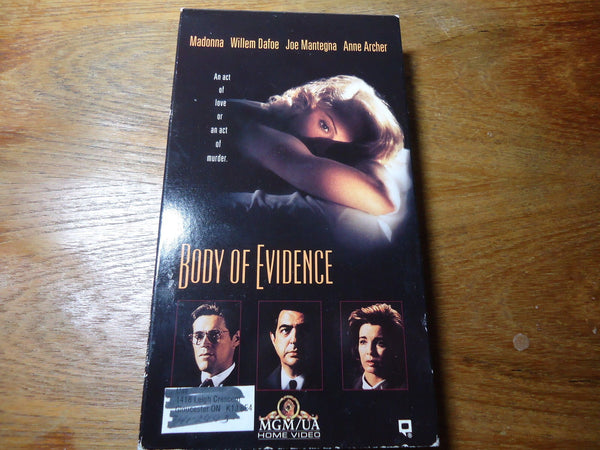 Body of Evidence [Rated R]