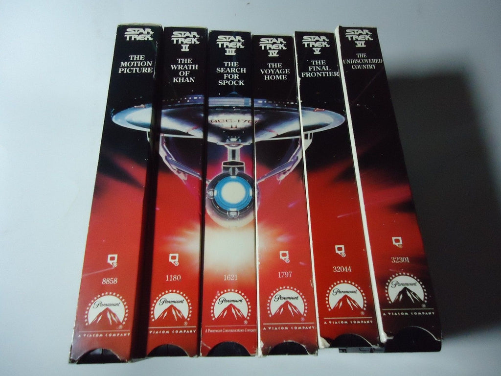Star Trek The Movie Collection  [6-Tape Set]