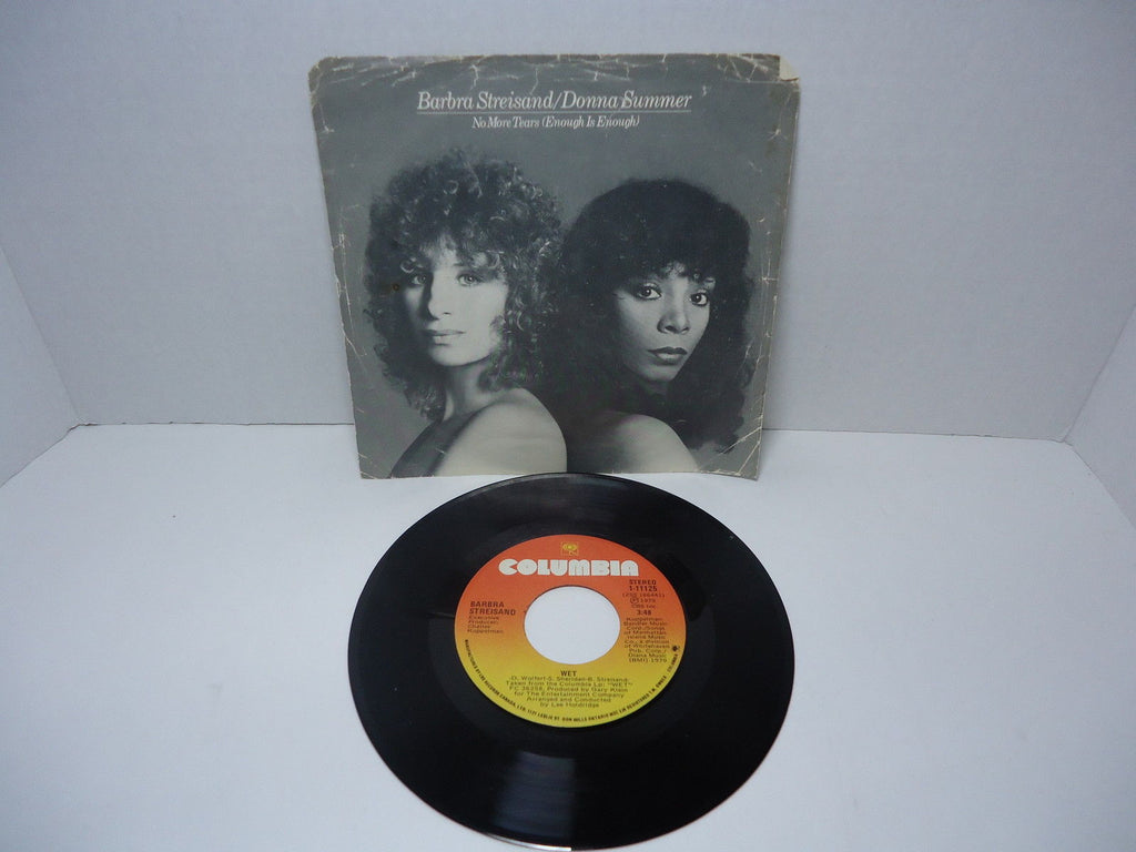 Donna Summer & Barbra Streisand - No More Tears / Wet