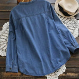 Women's Denim Tunic Tops Small - 5XL- light or dark denim - Northwest Outfitters Trading Co.