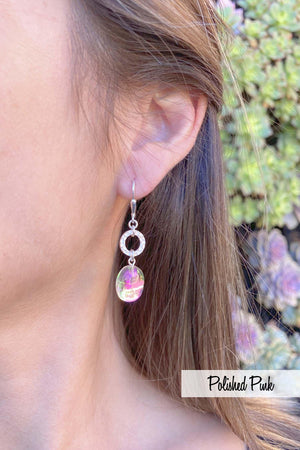 Circle Ext. Earrings - by Leightworks