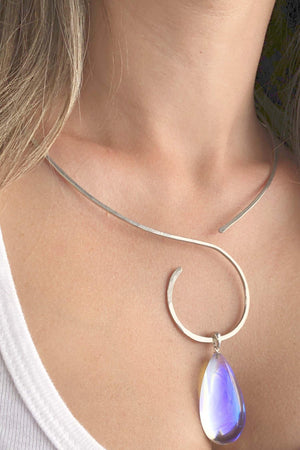 Sterling Silver Choker-Sterling Silver-Leightworks
