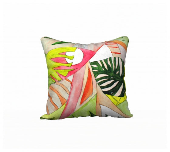 Patio Pillow - Modern Tropic