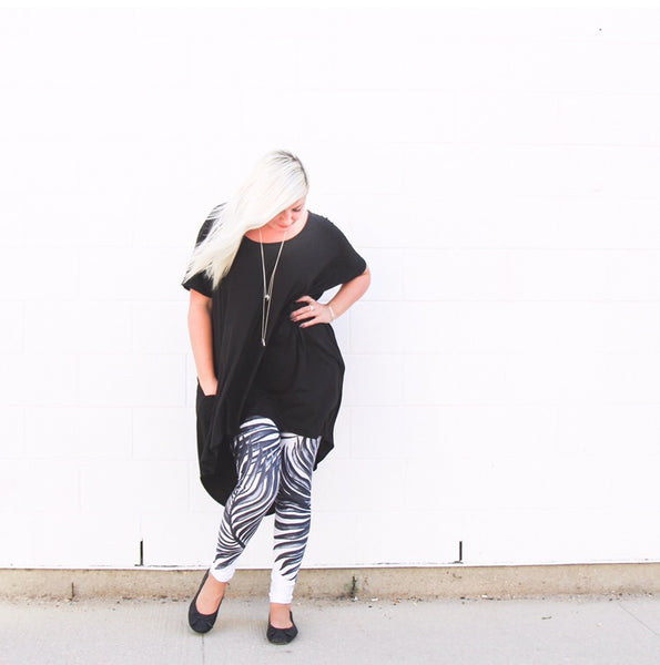 Leggings - Palm Print
