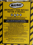 emergency food, survival food, mayday food, calorie bars
