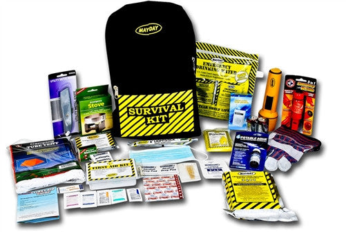 1 person emergency kit, mayday emergency backpack kit