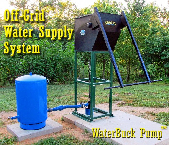 the waterbuck pump good ideas for life rh goodideasforlife com manual hand pump for deep well Hand Operated Well Pump