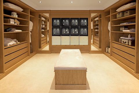 Customized Watch Winder Closet