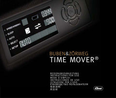 Buben & Zorweg TIMEMOVER Instructions English Pamphlet Cover