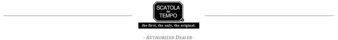 Scatola del Tempo Watch Winders Authorized Dealer Logo