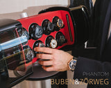 Buben & Zorweg Phantom 8 Hi-Fidelity Time Mover in Carbon Red