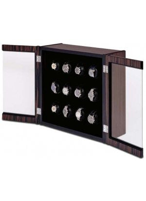 The Avanti 12 Wall Mounted - Watch Winder for Twelve Watches By Orbita