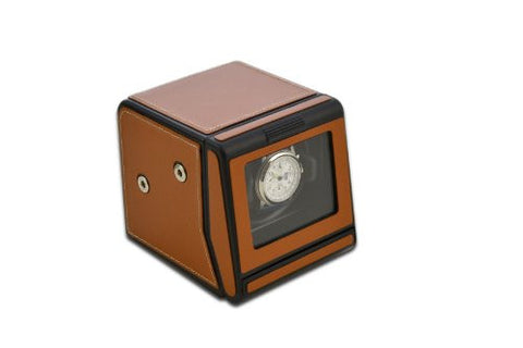 Scatola del Tempo 1 RT Modular Tan Leather Single Watch Winder