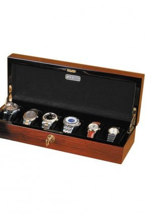 Orbita Zurigo 6 Watch Teak Collector Case