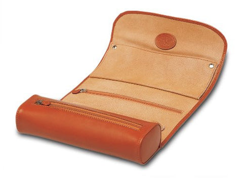 Underwood UN\208 Collectors Jewelry Travel Roll Case In Leather