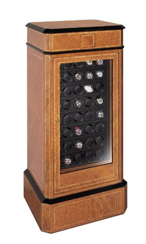 Scatola del Tempo 32RT RA ARMOURED 32 Watch Winder Cabinet w/ Fingerprint System