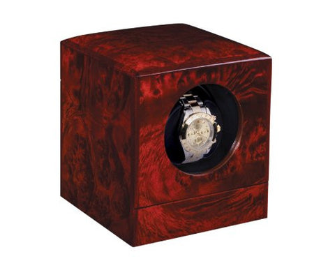 Orbita Privee 1 Watch Winder With Lithium Battery In Elm/Burl