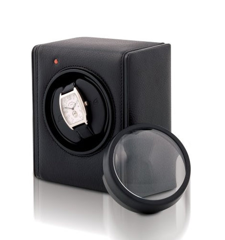 Orbita Bellino 1 Watch Winder In Black Leather