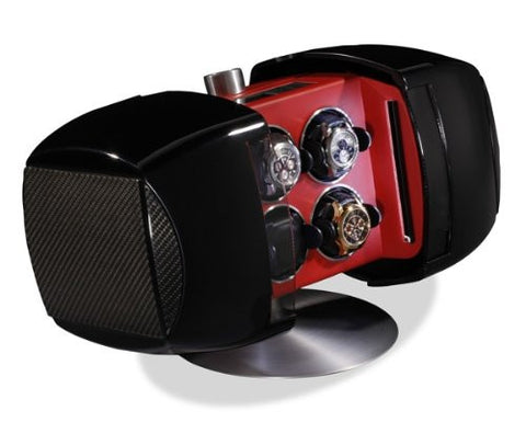 Buben & Zorweg Phantom 4 Time Mover Watch Winder In Carbon Diablo