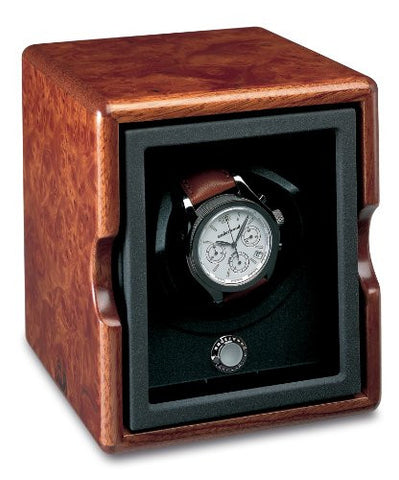 Underwood UN\821 Single Watch Winder Module In Briarwood