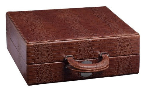 Underwood UN\3230 C 10 Watch Leather Attache Case Without Biometric Lock